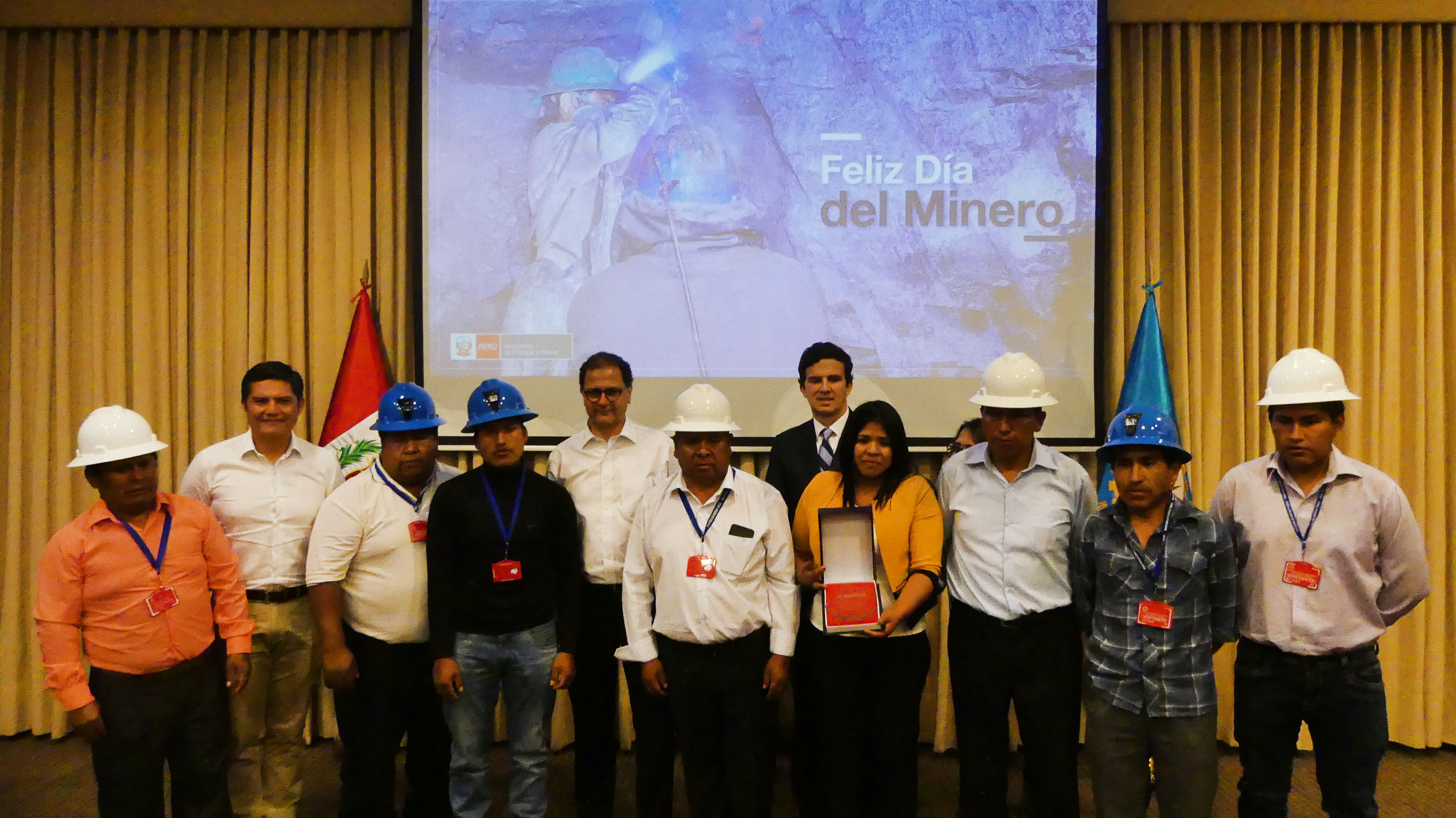 PERU | Minera Artesanal San Luis received the responsible gold Fairmined certification